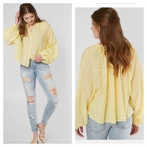 nwt // free people down from the clouds top